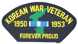 Korean War Veteran Patches